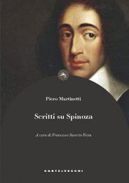 COVER scritti su spinoza