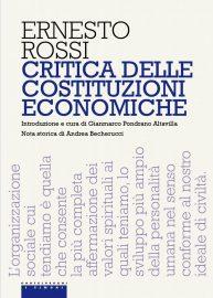 Critica delle costituzioni economiche