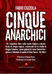 COVER cinque anarchici